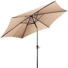 10 FT Outdoor Patio Umbrella Offset Market Shade Retail 99 99