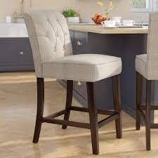 Cayman 26 inch Counter Stool Seat Beige PAIR