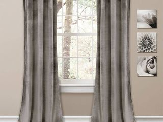 Prima Velvet 38  x 95  Curtain Set