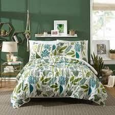 Jardin Duvet Set Full Queen Duvet Cover   2 Shams