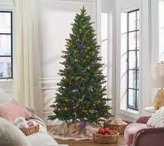 Bethlehem lights 7 foot Green 2 in 1 Heritage Christmas Tree