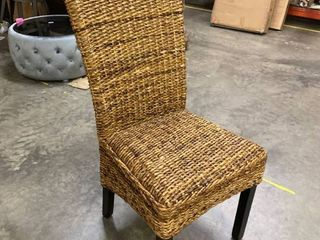 Single Wicker Dining Chair