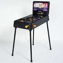 Standing or Tabletop Electronic Pinball Game w  lights   Sounds  Rock Star