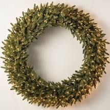 Bethlehem lights 48 inch lit Oversized Collapsable Wreath Multi