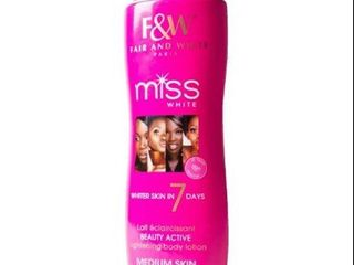 Fair   White Miss White 7 Day 17 6 ounce Body lotion