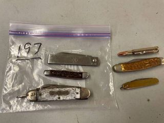 lot of 6 Pocket Knives