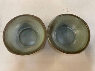 2 Frankoma Woodland Moss Soup or Cereal Bowl