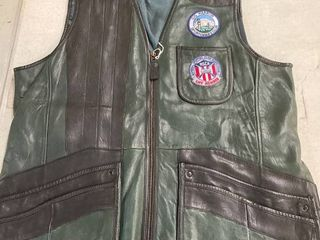 Men s Xl leather Orvis Shooting Vest