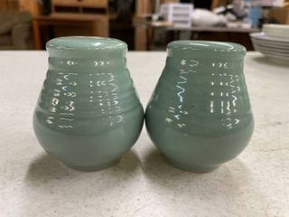 Vintage laughlin Salt and Pepper Shakers