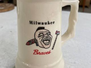 1958 Milwaukee Braves Championship Mug