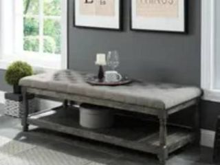 The Gray Barn Brookside Grey Bench  Retail 419 99