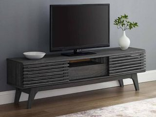 Render 59a TV Stand in Charcoal