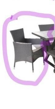 Owen Aluminum Wicker Outdoor Dining chair Set with Cushions by Christopher Knight Home  Retail 1079 99