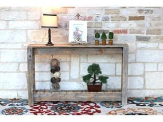 Rustic Entry Way Table  Retail 186 49