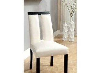 Side Chair  Black and White