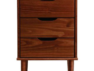 Carson Carrington Uddberga 3 drawer Wood Bedside Nightstand  Retail 106 99