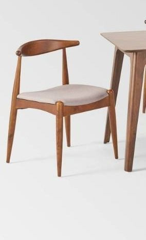 Francie 2 piece Mid century Dining chair Set by Christopher Knight Home  Retail 599 99