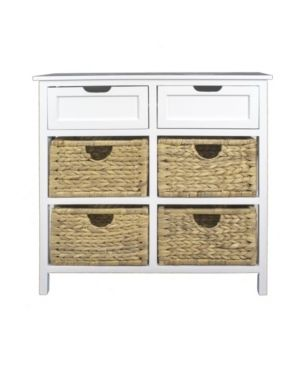 Raleigh 2 Drawer  4 Basket Accent Cabinet  Retail 383 99