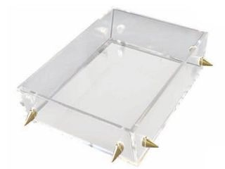 Rojo 16 lucite Stud Tray
