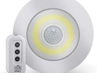 Sensor Brite Overlite Ultra  Remote Control Ceiling Wall lED light with Adjustable Brightness  Motion Activated  Stick Anywhere  Battery Operated Overhead lED light