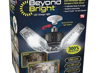 Beyond Bright As Seen On TV Amazingly Bright Garage light piece to connect light bulb is broken