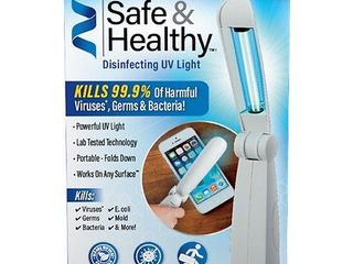 As Seen on TV Safe   Healthy lED Disinfecting UV light
