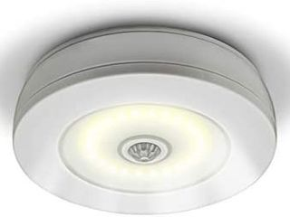Sensor Brite Overlite Wireless Motion Activated Ceiling Wall lED light  Stick Anywhere  Battery Operated Overhead light