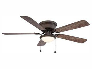 Hugger 52 in  lED Espresso Bronze Ceiling Fan 1003023395   New