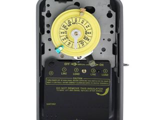 Intermatic T104R 208 277 Volt DPST 24 Hour Mechanical Time Switch with Outdoor Case