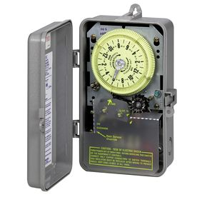 Intermatic Outdoor Pool Sprinkler Irrigation Timer 25 amps 208 277 volts Gray