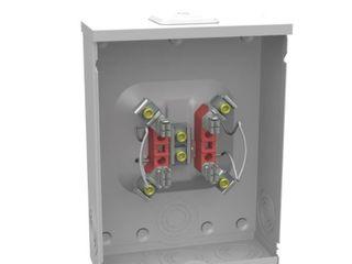 Milbank 250 Amp Ringless Single Phase  124 240  Meter Socket