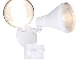 Defiant 180 Degree Outdoor White Motion Sensing Security light