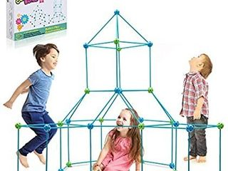 Obuby Kids Construction Fort Building Kit 120 Pieces Ultimate Forts Builder Gift Build Making Kits