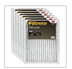 Filtrete Clean living Basic Dust AC Furnace Air Filter  MPR 300  14 x 20 x 1 Inches  6 Pack