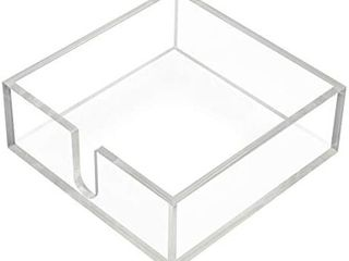 KEVlANG Sturdy Acrylic Cocktail Napkin Paper Holder