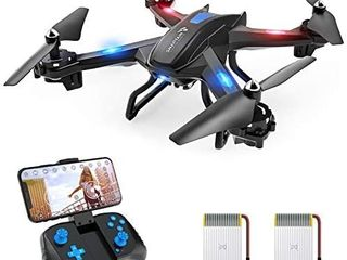 SNAPTAIN S5C WiFi FPV Drone with 1080P HD Camera Voice Control  Wide Angle live Video RC Quadcopter