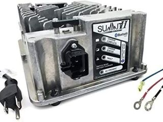 lester Summit Series II Battery Charger 650W 36 48V  5 16 in Ring Terminals with QD lockout  6 Ft