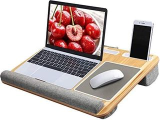 lap Desk   Fits up to 17 inches laptop Desk  Built in Mouse Pad   Wrist Pad