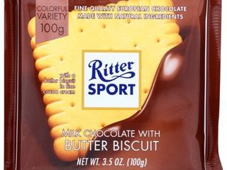 MIlK CHOCOlATE WITH BUTTER BISCUIT   COCOA CREME
