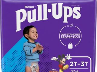 Pull Ups Boys  learning Designs Training Pants  2T 3T  124 Ct