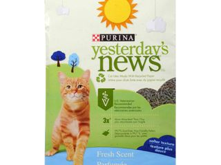 YESTERDAY S NEWS PRODUCTS 702315 Softer Texture Fresh Scent Cat litter  26 4 Pound