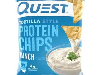RANCH TORTIllA STYlE PROTEIN CHIPS  RANCH 12 pack