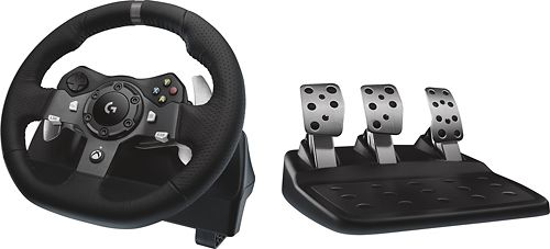 logitech   G920 Driving Force Racing Wheel for Xbox Series X S  Xbox One and Windows   Black