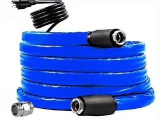 5FT Heated Water Hose for RV Outdoor Furniture 1 2  and 3 4  Inner Diameter Self Regulating Withstand Temperatures Down to 40AF lead and BPA Free