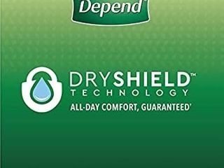Depend FIT Flex Incontinence Underwear for Men  Maximum Absorbency  Disposable  large  Grey   Packaging May Vary