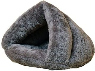 Beskie Pet Tent Cave Bed for Small Medium Puppies Kitty Dogs Cats Pets Sleeping Bag Thick Fleece Warm Soft Dog Bed Cuddler Burrow House Hole Igloo Nest Cozy Bed for Cat Puppy