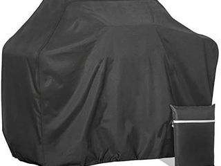 58 inch Grill Cover Waterproof Weather Resistant 600D Heavy Duty BBQ Cover Suitable for Weber  Brinkmann  Char Broil Grills and More