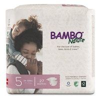 Bambo Nature Premium Baby Diapers  Size 5  27 Diapers