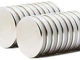 Powerful Neodymium Disc Magnets Rare Earth Magnets Fridge  DIY  Scientific  Craft  and Office Strong Magnets with Double Sided 60 pcs 12x3 mm