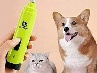 Dog Nail Grinder Trimmer   Professional 2 Speed Quiet USB Rechargeable Pet Nail Trimmer Painless Paws Grooming   Smoothing for Small Medium large Dogs   Cats